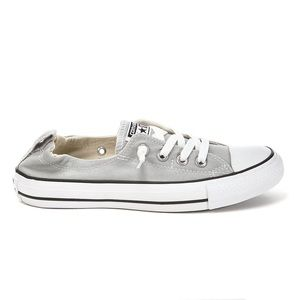 Converse grey shoreline slip on sneakers 8.5